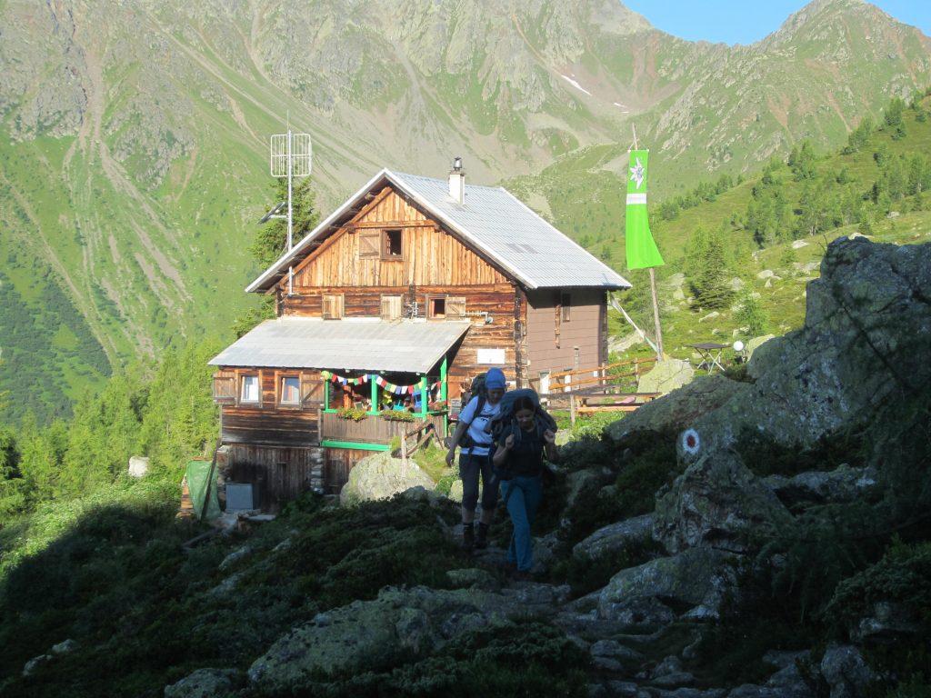 Die Salzkofelhütte. Foto: Petra Jens
