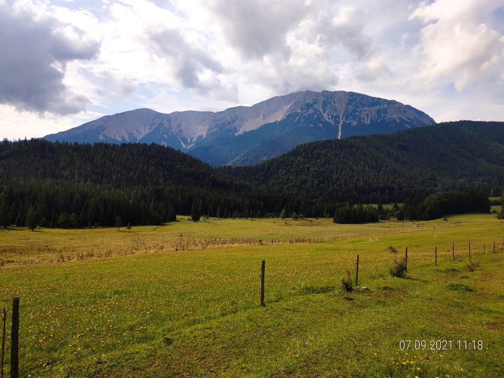 Rieswände des Schneebergs. Foto: Simon Widy