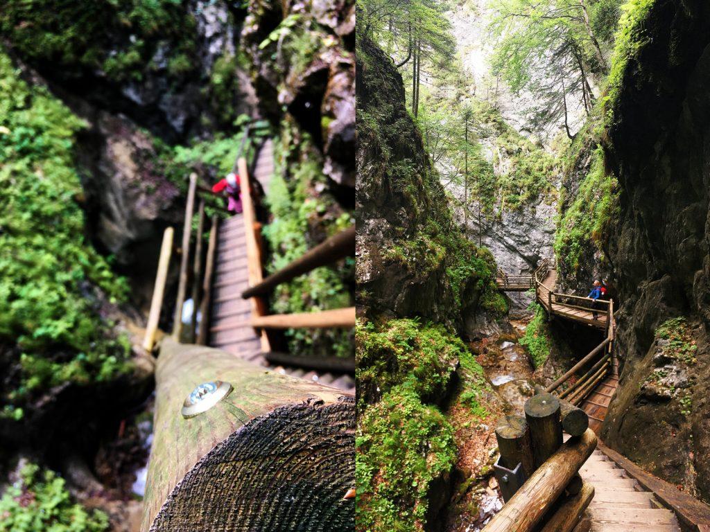 Klamm Abstieg & Ausstieg (Fotos; Stefan Hochhold)